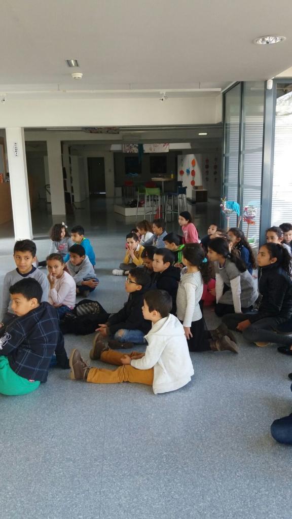 19 mars Les enfants prennent connaissance du projet