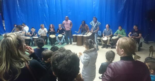 Animation percussions et danses africaines avec Boya boya
