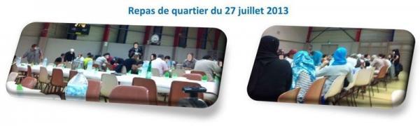 Activités2013 - Repas de quartier du 27 juillet 2013
