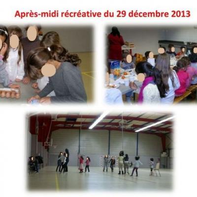 Activités2013 - Après-midi récréative du 29 décembre 2013