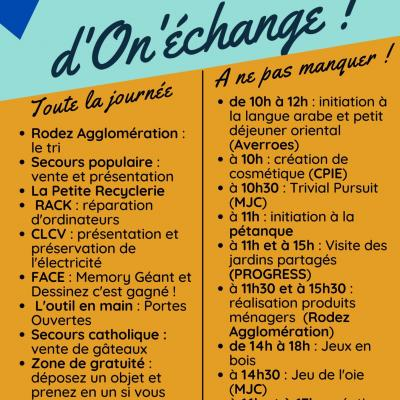 Festival On'Echange aux Quatre-Saisons