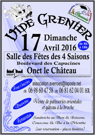 Affiche Vide-Greniers 2016