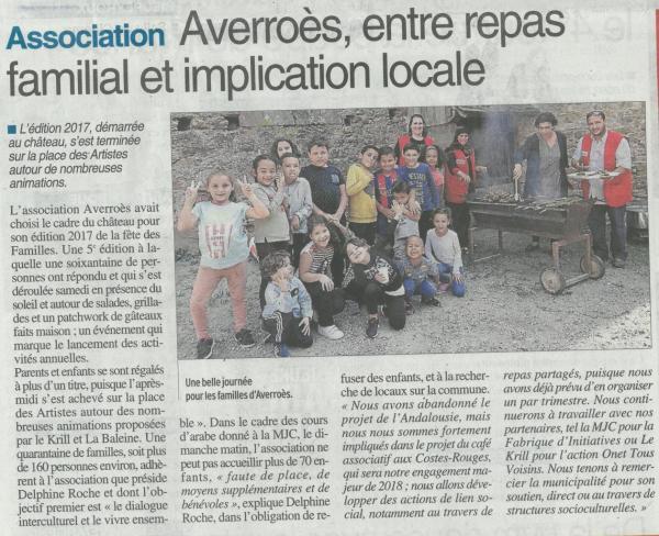 5ème Fête des familles - Centre Presse / 26 septembre 2017