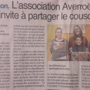 Soirée Couscous - Centre-Presse 10-02-2019