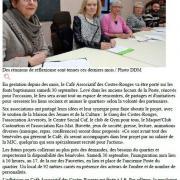 Café associatif des Costes-Rouges - Centre Presse / 23 septembre 2017