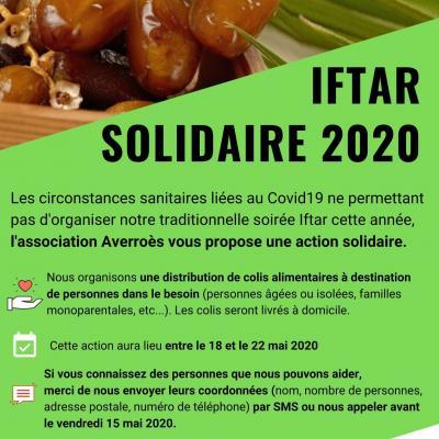 Opération Iftar - mai 2020