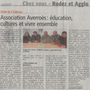 Présentation Averroès - Centre-Presse / 10 mai 2014