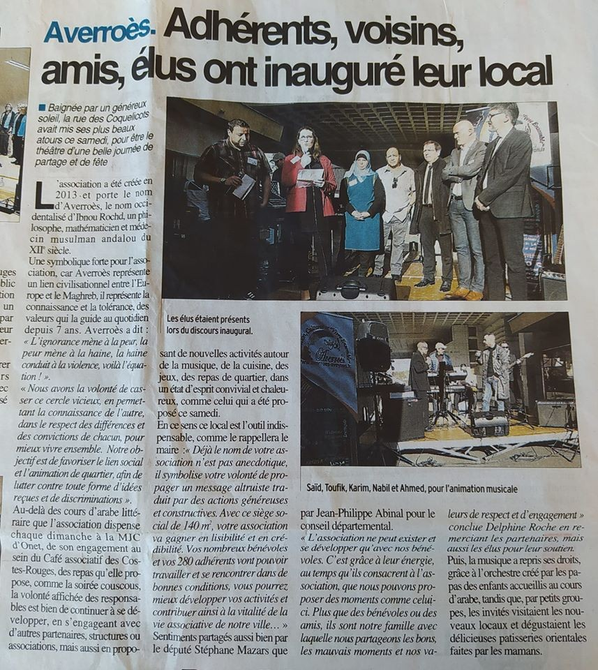 Inauguration local - Centre Presse 24/02/2020
