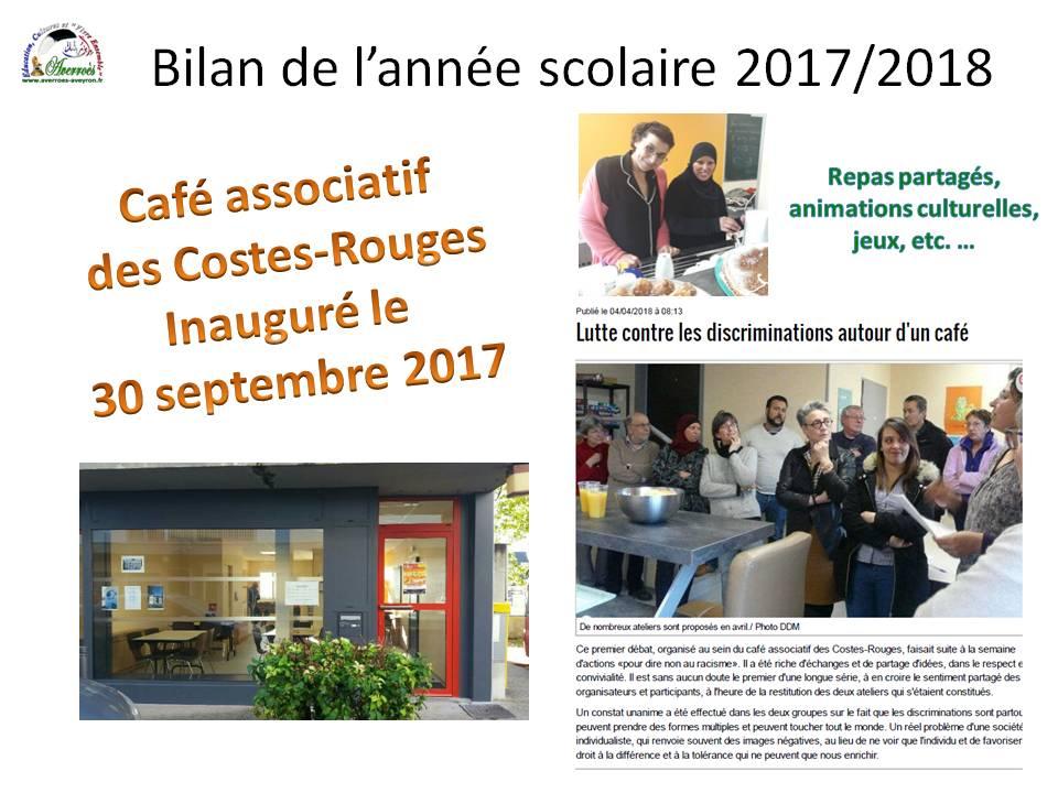 Café associatif des Costes-Rouges