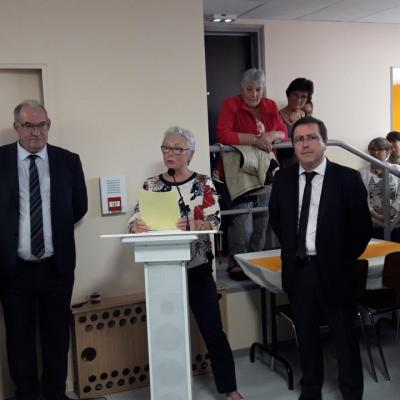 Inauguration du café associatif des Costes-Rouges