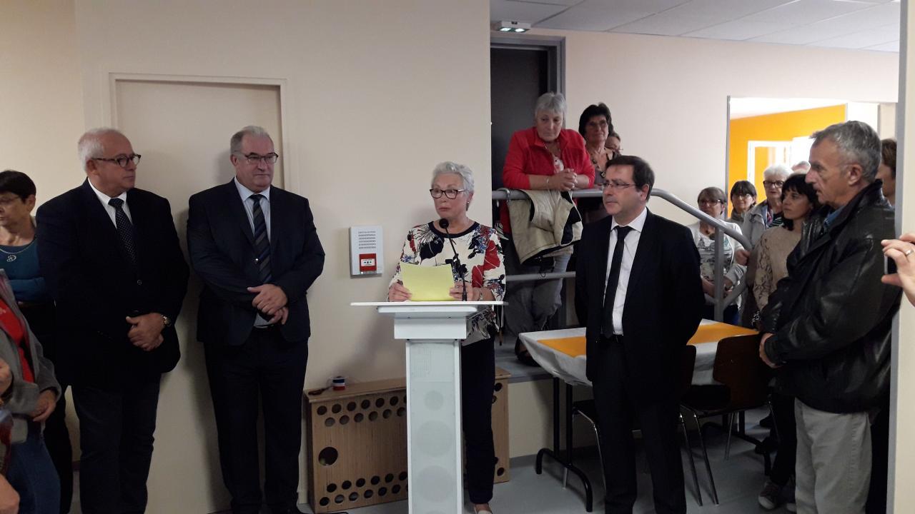 Discours de Josette Deschamps, présidente du Café Associatif