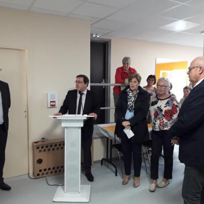 Discours de M. Kéroslian, Maire d'Onet-le-Château