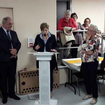 Discours de Mme Abadie-Roque, conseillère départementale