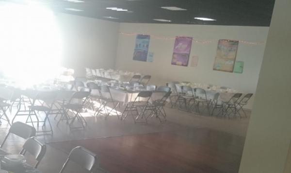 La salle de la Penchoterie nous accueille pour la première fois