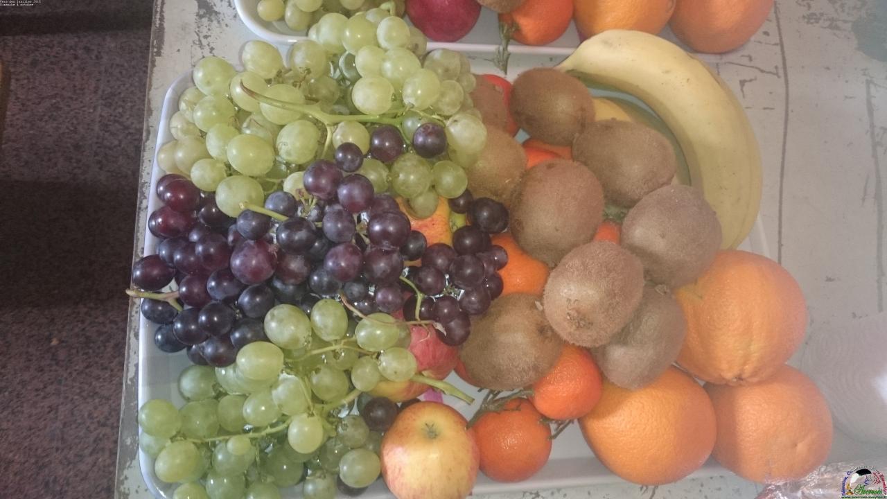 Fruits de saison pour le dessert