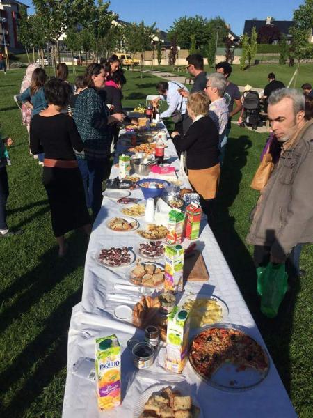 Repas partagé convivial avec Averroès et le Café associatif des Costes-Rouges