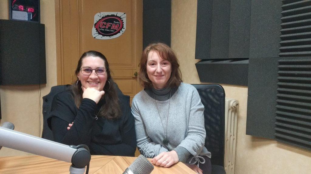Delphine Roche et Stéphanie Sabarly