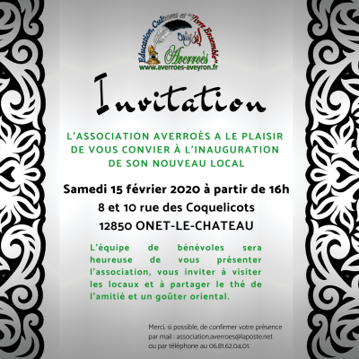 Inauguration du local d'Averroès - 15/02/2020