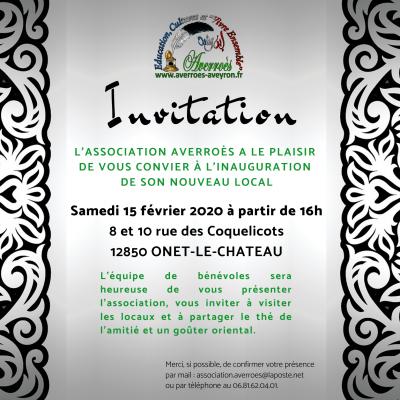 Inauguration du local d'Averroès - 15/02/2020