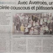 Soirée Couscous - Centre Presse 14/01/2020
