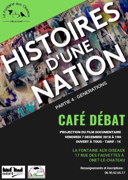 Histoires d'une nation : générations - 7/12/2018