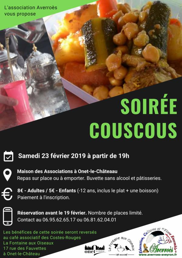 Soiree couscous 23 2 2019
